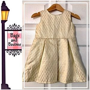 CARTERS Baby Girl Party/Holiday Dress, Size 18 Mo.